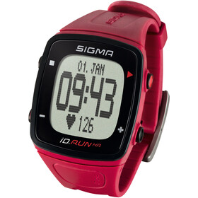 SIGMA SPORT ID.Run HR Sykemittari, red